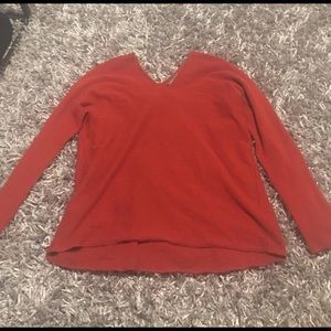 Vince Red Cashmere Sweater XS